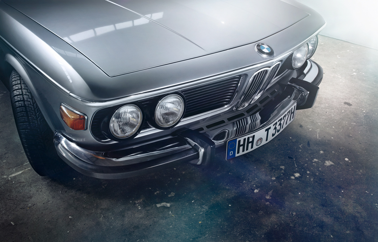 personal work - BMW 3.0 CS