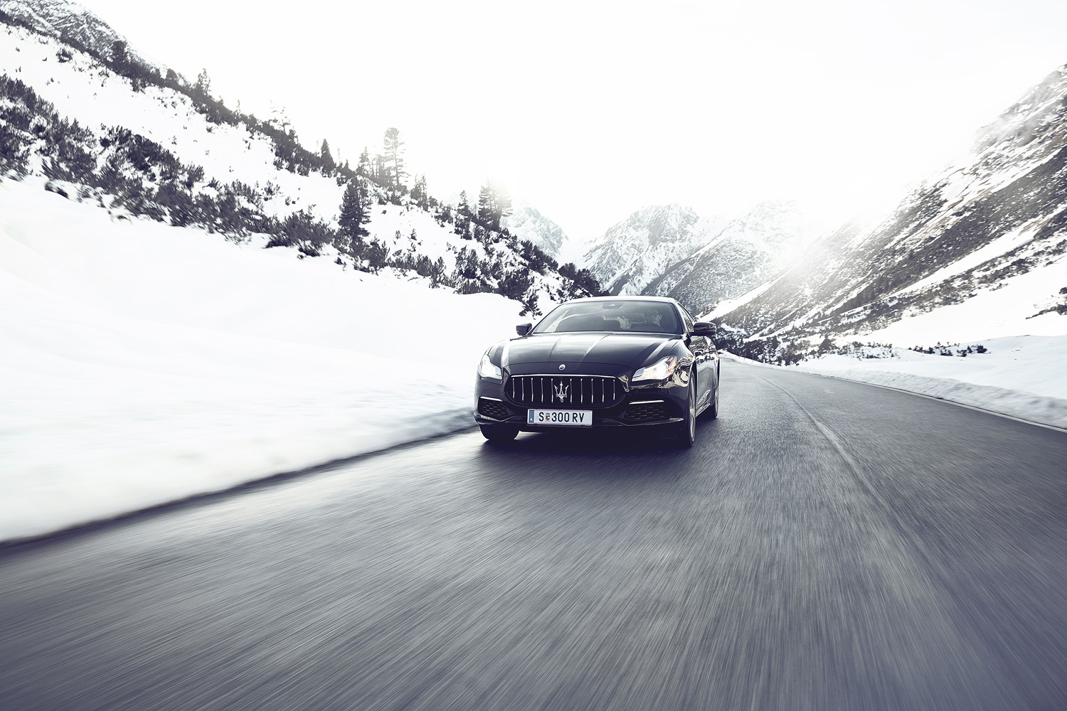 Maserati in the Alps 2 by Marc WITTKOWSKI