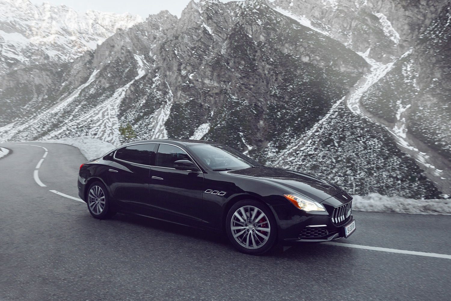 Maserati in the Alps 4 by Marc WITTKOWSKI