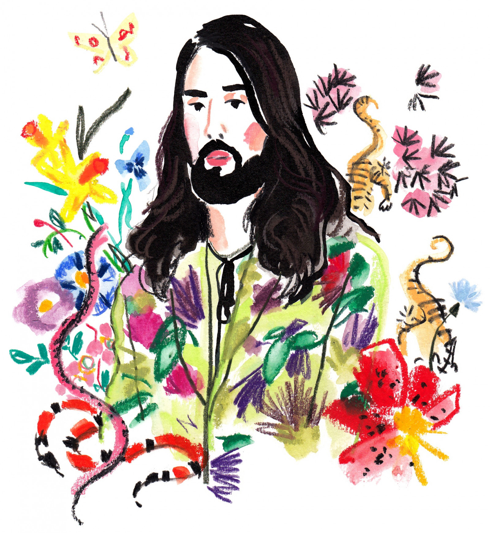 Alessandro Michele for Le Temps