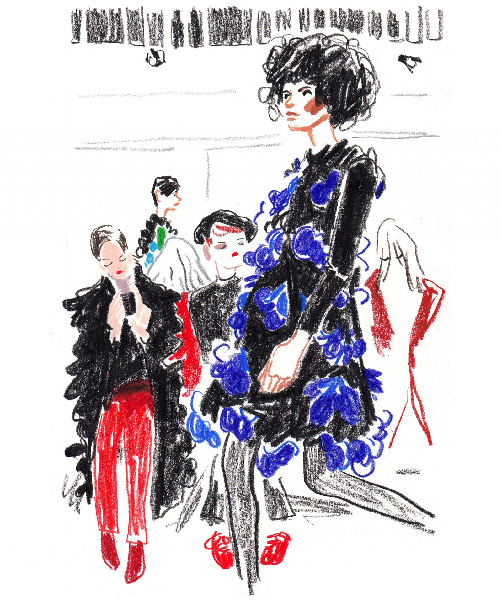 Paris Fashion Week 1 by Damien Florébert CUYPERS