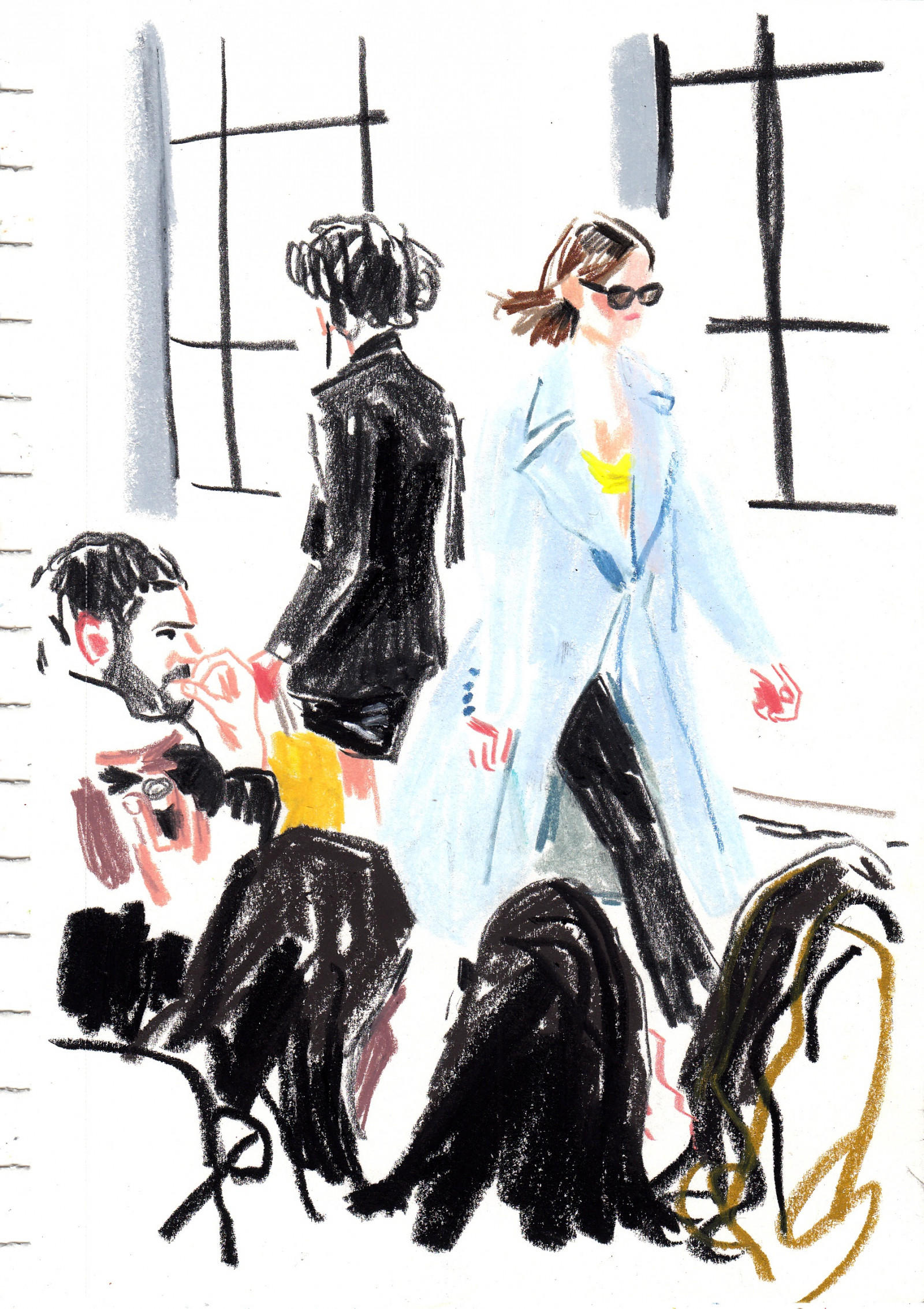 Paris Fashion Week 2 by Damien Florébert CUYPERS