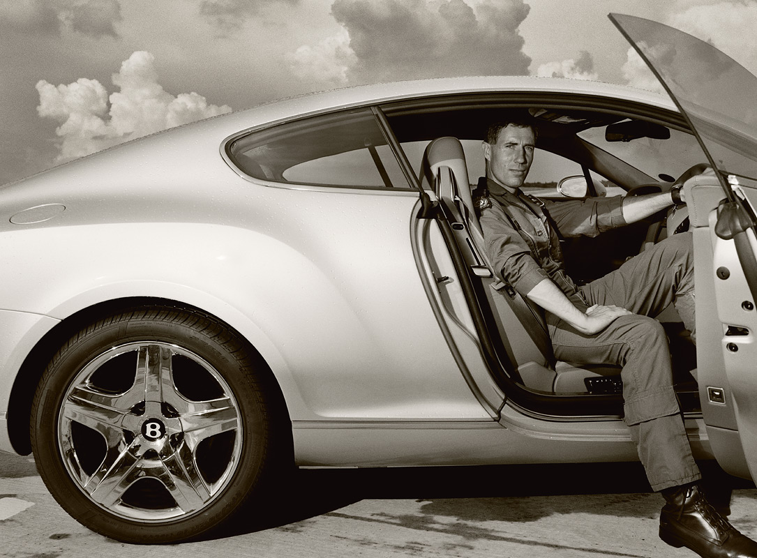 Andy Green for Bentley