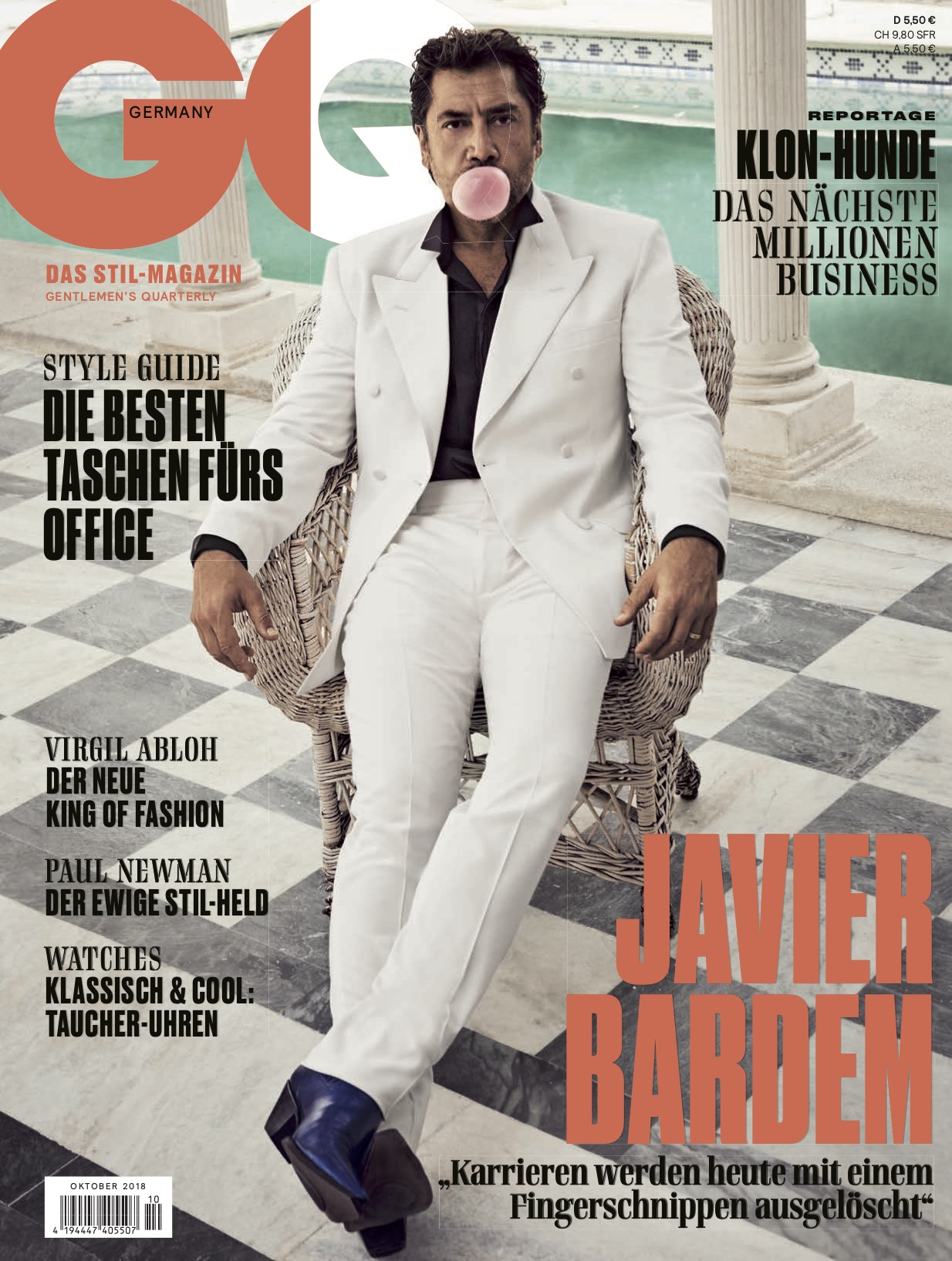 GQ with Javier Bardem 1 by Claudia ENGLMANN
