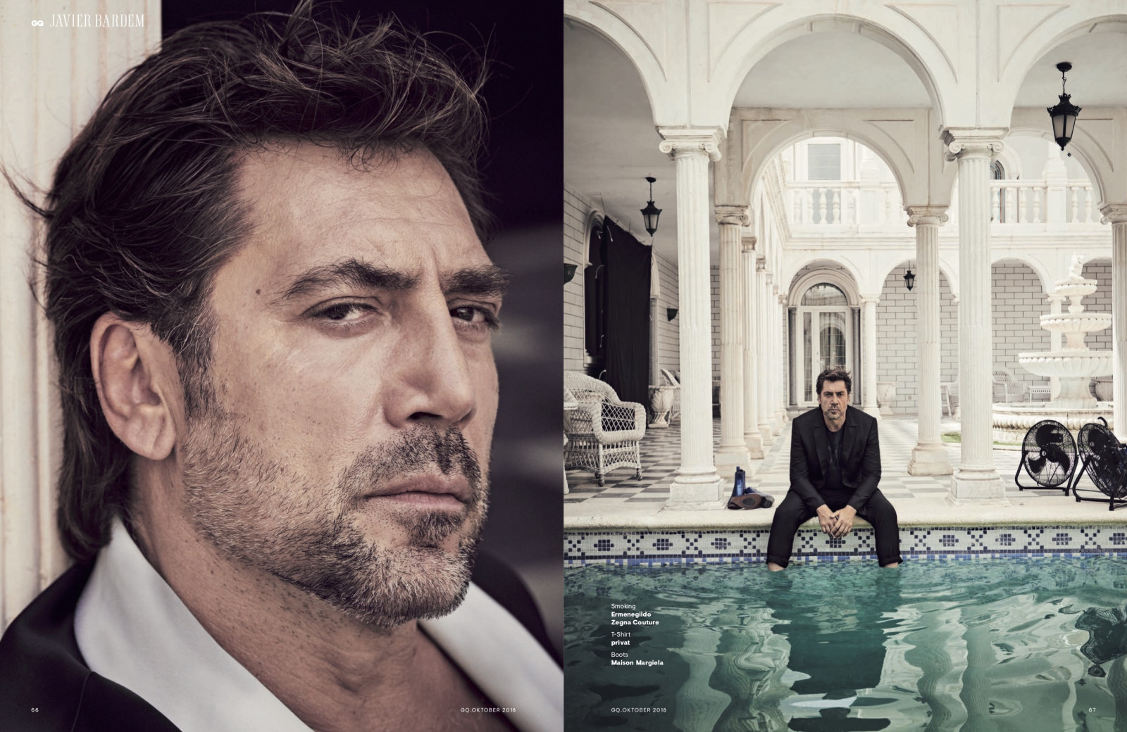GQ with Javier Bardem 4 by Claudia ENGLMANN