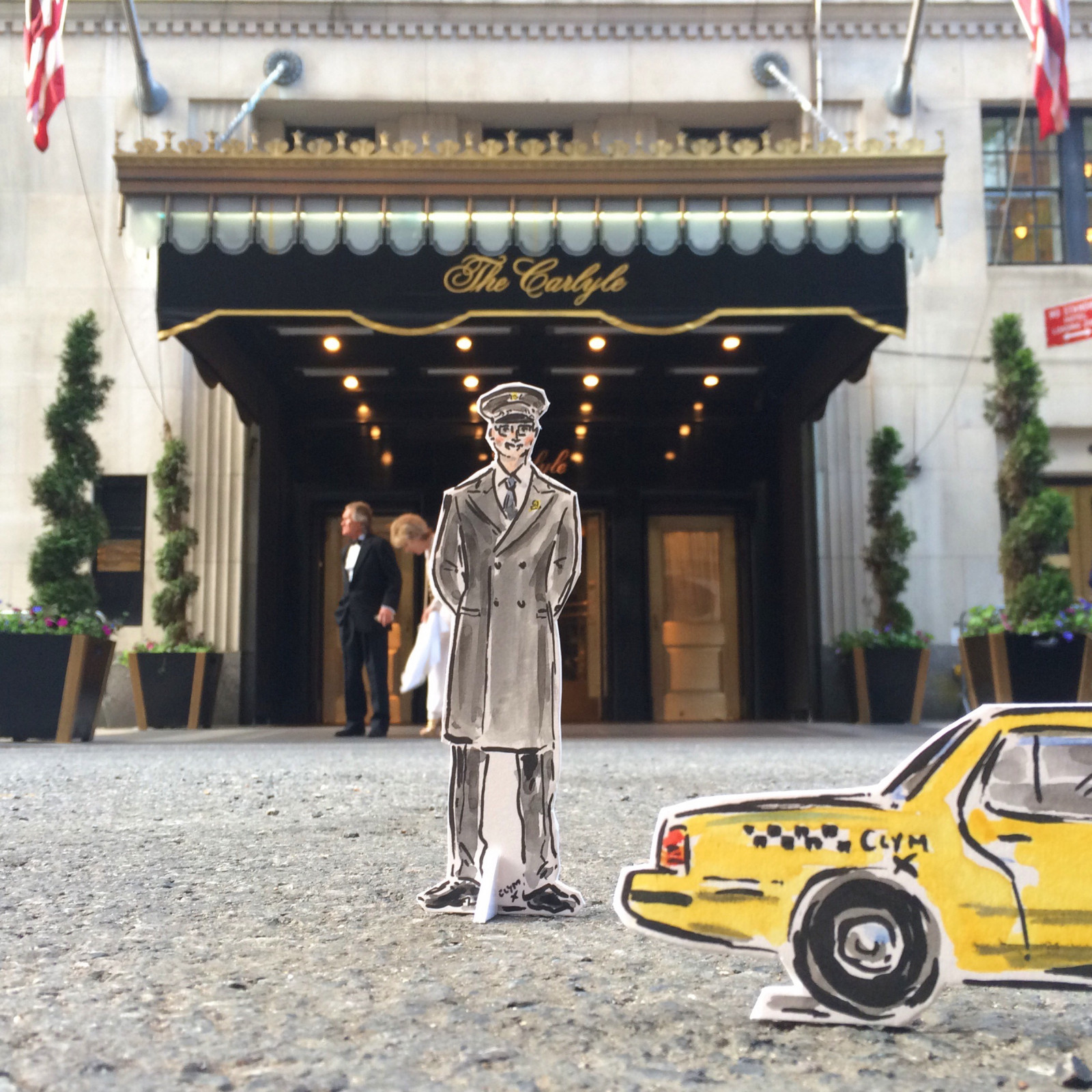 THE CARLYLE DOORMAN
